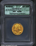 Ancients:Roman, Constantine I, the Great, A.D. 307-337. AV solidus as ...