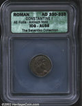 Ancients:Roman, Constantine I, the Great, A.D. 307-337. AE 3/4 minted at ...