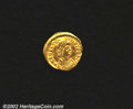 Ancients:Byzantine, Anastasius I, A.D. 491-518. AV tremissis minted at ...