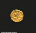 Ancients:Byzantine, Justinian I, A.D. 527-565. AV tremissis minted at ...