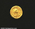 Ancients:Byzantine, Tiberius II, A.D. 578-582. AV tremissis minted at ...