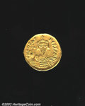 Ancients:Byzantine, Phocas, A.D. 602-610. AV solidus attributed to Cyprus or ...
