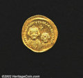 Ancients:Byzantine, Heraclius, A.D. 610-641. AV solidus minted at ...