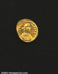 Ancients:Byzantine, Heraclius, A.D. 610-641. AV semissis minted at ...