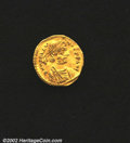 Ancients:Byzantine, Heraclius, A.D. 610-641. AV tremissis minted at ...