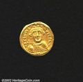 Ancients:Byzantine, Constans II, A.D. 641-668. AV solidus minted at ...