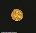 Ancients:Byzantine, Leontius, A.D. 695-698. AV solidus minted at ...