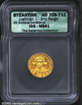 Ancients:Byzantine, Justinian II, A.D. 705-711 (second reign). AV solidus ...