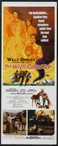 "Movie Posters:Adventure, The Wild Country (Buena Vista, 1971). Insert (14"" X 36"").Adventure. Starring Steve Forrest, Jack Elam, Ronny Howard andVer..."