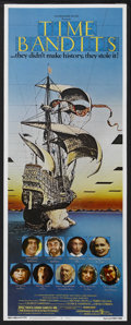 "Movie Posters:Fantasy, Time Bandits (Embassy, 1981). Insert (14"" X 36""). Fantasy Adventure. Directed by Terry Gilliam. Starring John Cleese, Sean C..."