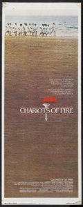 "Movie Posters:Academy Award Winner, Chariots of Fire (Warner Brothers, 1981). Insert (14"" X 36"").Sports Drama. Academy Award Winner. Directed by Hugh Hudson. S..."