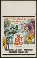 "Movie Posters:Science Fiction, The Lost World (20th Century Fox, 1960). Window Card (14"" X 22""). Science Fiction. Starring Michael Rennie, Jill St. John, D..."