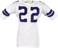 """Football Collectibles:Uniforms, Mid-1960's Bob Hayes Game Worn Jersey. """"Bullet Bob"""" was more than an Olympic sprint Gold Medalist. He transformed the wide..."""