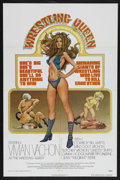 "Movie Posters:Sports, The Wrestling Queen (Harnell Independent Productions, 1973). One Sheet (27"" X 41""). One Sheet (27"" X 41""). Sports Biography...."