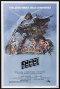 "Movie Posters:Science Fiction, The Empire Strikes Back (20th Century Fox, 1980). One Sheet (27"" X41"") Style B. Science Fiction. Starring Mark Hamill, Harr..."
