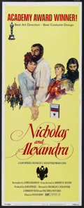 "Movie Posters:Historical Drama, Nicholas and Alexandra (Columbia, 1971). Insert (14"" X 36"").Historical Drama. Starring Michael Jayston and Janet Suzman. Di..."