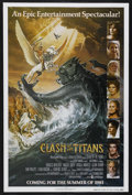 """Movie Posters:Fantasy, Clash of the Titans (MGM, 1981). One Sheet (27"""" X 41"""") Advance.Fantasy. Starring Laurence Olivier, Harry Hamlin, Claire Blo..."""