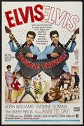 "Movie Posters:Elvis Presley, Double Trouble (MGM, 1967). One Sheet (27"" X 41""). Musical Comedy.Starring Elvis Presley, Yvonne Romain, The Wiere Brothers..."