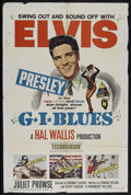 "Movie Posters:Elvis Presley, G.I. Blues (Paramount, 1960). One Sheet (27"" X 41""). Musical.Starring Elvis Presley, Juliet Prowse, Robert Ivers and Letici..."