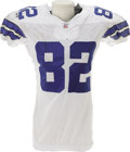 Football Collectibles:Uniforms, 2006 Jason Witten Game Worn Jersey. The heavy black staining on the shoulders of this star tight end's jersey is symptomati...
