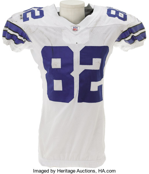 new product b3f83 46b68 2006 Jason Witten Game Worn Jersey. The heavy black staining ...
