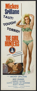 "Movie Posters:Mystery, The Girl Hunters (Colorama, 1963). Insert (14"" X 36""). Mystery.Starring Mickey Spillane, Shirley Eaton, Lloyd Nolan, Hy Gar..."
