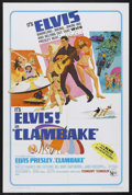 "Movie Posters:Elvis Presley, Clambake (United Artists, 1967). One Sheet (27"" X 41""). RockMusical. Starring Elvis Presley, Shelley Fabares, Will Hutchins..."