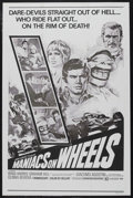 """Movie Posters:Sports, Maniacs on Wheels (Cinemation Industries, R-1970s). One Sheet (27"""" X 41""""). Sports Drama. Starring Graham Hill, Brad Harris, ..."""