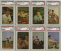 Baseball Cards:Sets, 1953 Bowman Baseball Color Complete Set (160). Long a collector favorite for its outstanding color photograph and uncluttere...