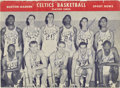 Basketball Collectibles:Others, 1958-59 Boston Celtics Team Signed Program. A four-game sweep over the Minneapolis Lakers earned this storied franchise its...