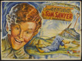 "Movie Posters:Adventure, The Adventures of Tom Sawyer (Guaranteed Pictures, R-1945).Argentinian Two-Panel (41 1/2"" X 57""). Adventure. Starring Tommy..."