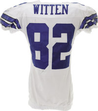 new product 3702f d5c09 2006 Jason Witten Game Worn Jersey. The heavy black staining ...