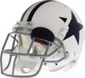Football Collectibles:Helmets, 2006 Terence Newman Game Worn Throwback Helmet. The fourth year cornerback out of Kansas State put fine wear into this old ...