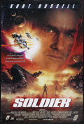 "Movie Posters:War, Soldier/The Thin Red Line Lot (Warner Brothers/20th Century Fox,1998). One Sheets (2) (27"" X 41""). War. Starring Kurt Russe...(Total: 2 Items)"