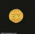 Ancients:Byzantine, Leo IV, A.D. 775-780. AV solidus minted at Constantinople....