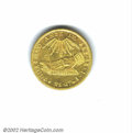 Chile, Republic gold 8 escudos 1836 So-IJ, Hand on book/Arms, F-...
