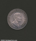 German States:Hesse-Darmstadt, Hesse-Darmstadt taler 1825-HR, Bust right/Crowned and ...