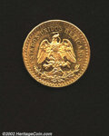 Mexico, Estados Unidos gold 50 pesos 1947, Eagle/Winged Victory, F-...