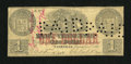 Obsoletes By State:Tennessee, Nashville, TN- Bank of Tennessee $1 Dec. 1, 1861. ...