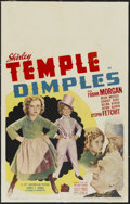 """Movie Posters:Musical, Dimples (20th Century Fox, 1936). Window Card (14"""" X 22""""). Musical...."""