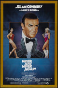 """Movie Posters:James Bond, Never Say Never Again (Warner Brothers, 1983). One Sheet (27"""" X41""""). James Bond...."""