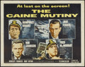 "Movie Posters:War, The Caine Mutiny (Columbia, 1954). Half Sheet (22"" X 28"") Style A.War...."
