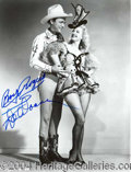 Autographs, Roy Rogers and Dale Evans