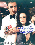 Autographs, Lana Wood (James Bond)