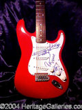 Autographs, The Rolling Stones--Signed Guitar