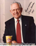 Autographs, Dave Thomas (Wendy's) Group Lot