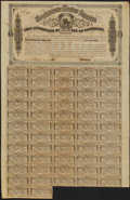Confederate Notes:Group Lots, Ball 323 Criswell 144A $1000 Confederate Bond. . ...