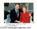 Autographs, Ronald and Nancy Reagan