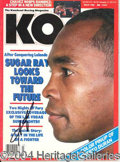 Autographs, Sugar Ray Leonard