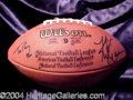 Autographs, Super Bowl XXVI Quarterbacks: Kurt Warner & Tom Brady
